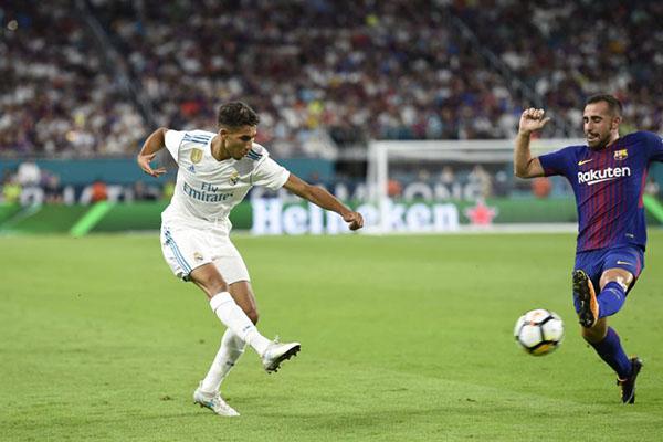 Achraf Hakimi Bintang Muda Real Madrid Berikut Faktanya