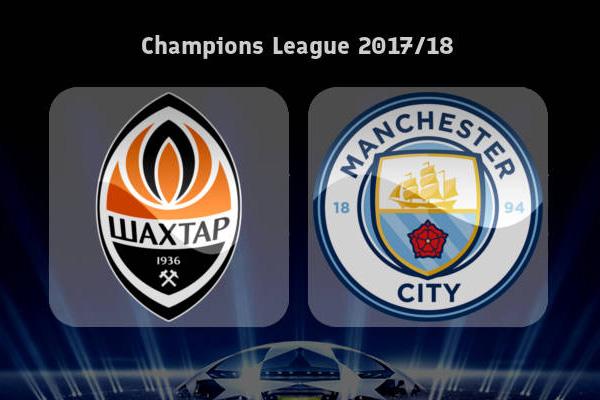 Prediksi Shakhtar Donetsk vs Manchester City 7 Desember 2017