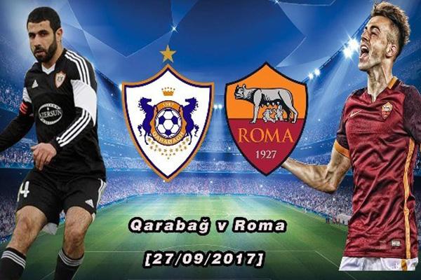 Prediksi Sepakbola AS Roma vs Qarabag 6 Desember 2017
